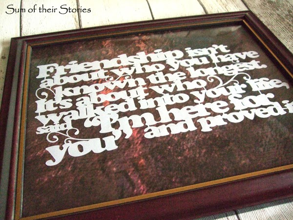 make art from quotes by cutting paper