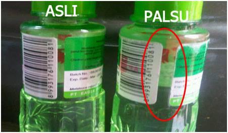 Bunda Harus Lebih Cermat saat membeli Minyak Kayu Putih ASLI, Silahkan Di Share..