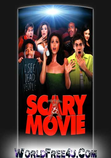 Poster Of Scary Movie (2000) In Hindi English Dual Audio 300MB Compressed Small Size Pc Movie Free Download Only At worldfree4u.com
