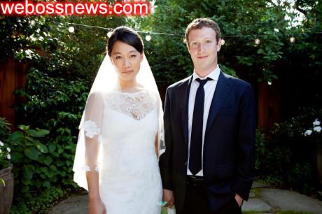 朱克伯格結婚普莉希拉