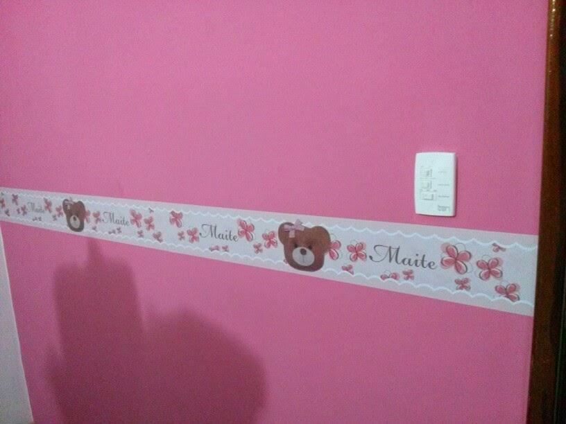 Desig n Quartos de bebê ~ Quarto Rosa Seco