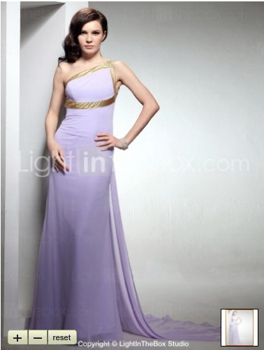 Sweet Lavender Gown | OctovianaBlog