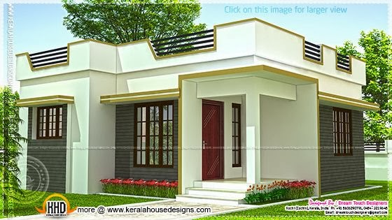 Small House In Kerala 640 Square Feet Home