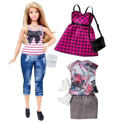 TOYS : JUGUETES - BARBIE Fashionistas  Everyday Chic | Nueva Muñeca con curvas  Mattel DTF00 | A partir de 3 años  Comprar en Amazon España & buy Amazon USA