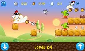 لعبة Ninja Chicken الجديدة للاندرويد لعبة الفرخة النينجا الجديدة للاندرويد