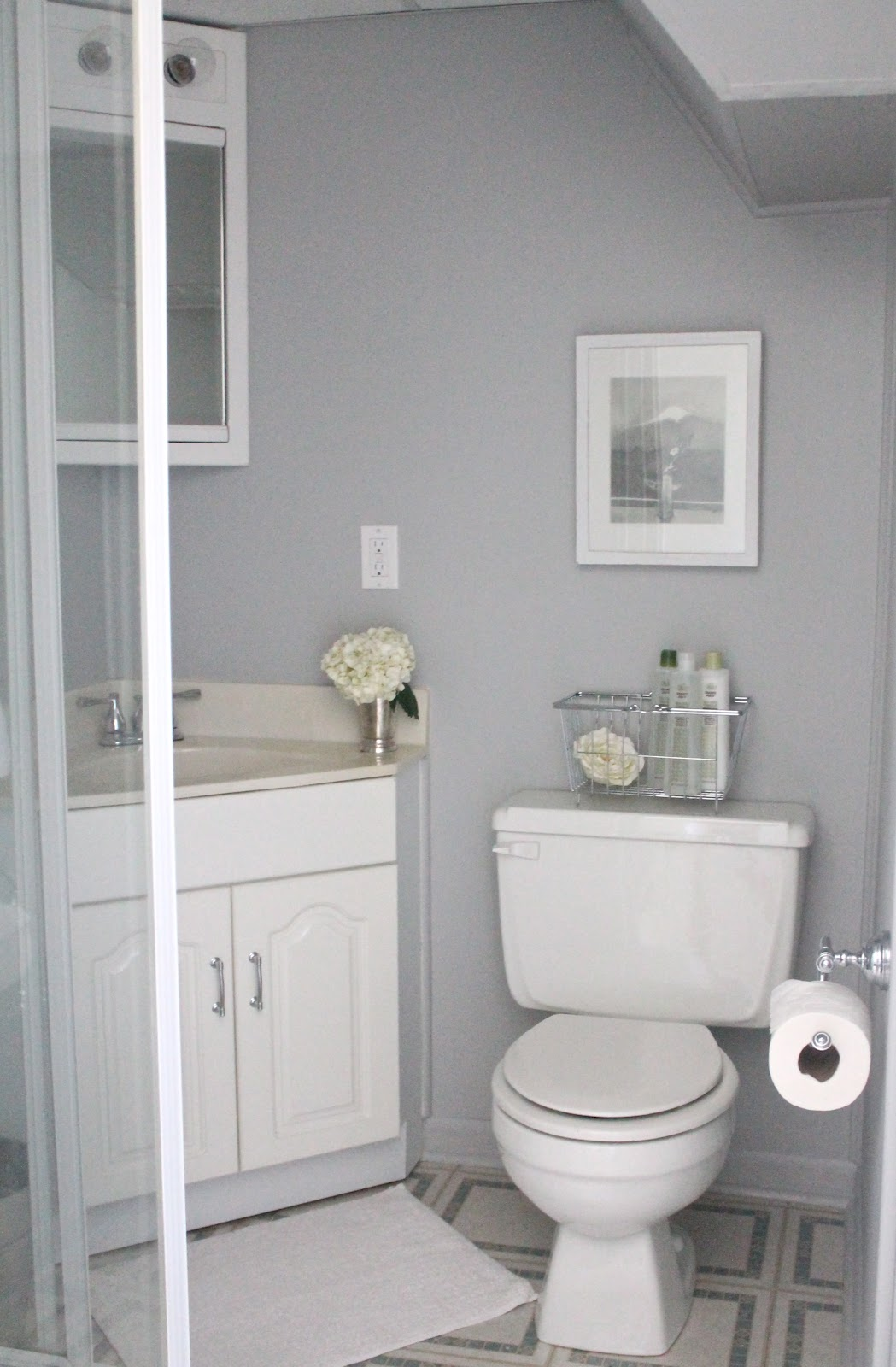 What to include in a guest bath julie blanner for New small bathroom