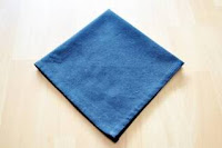 Ascot Napkin Folding #1