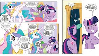 Celestia gives Twilight her task
