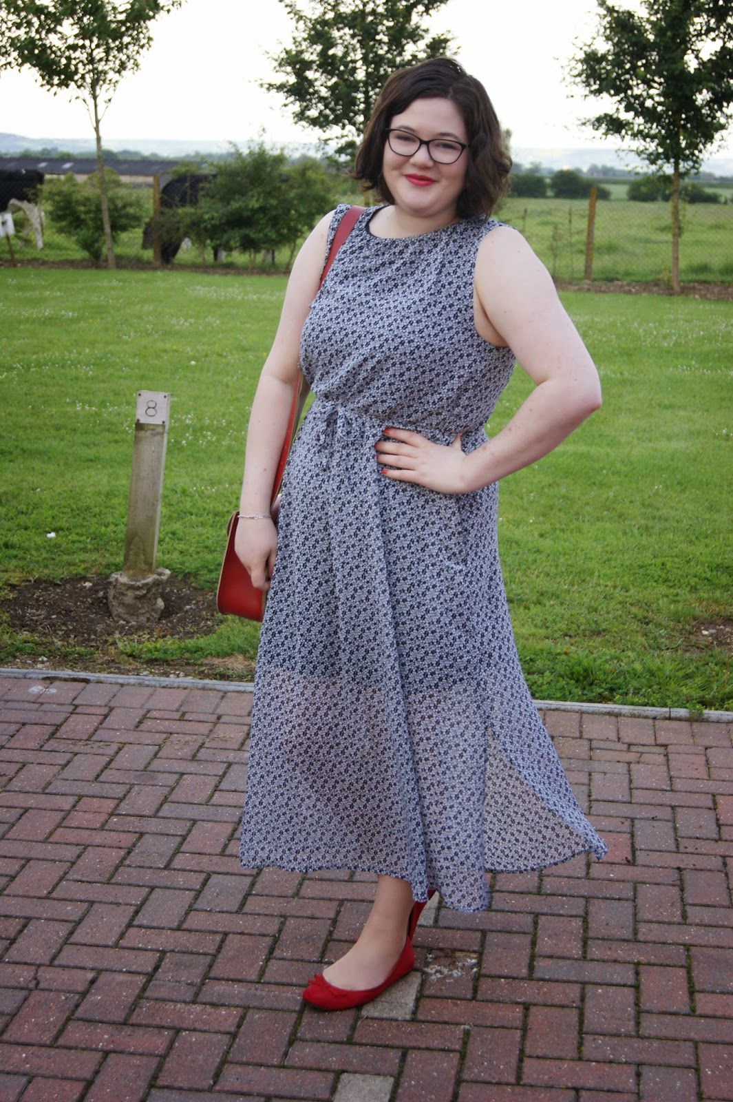 Flat shoes for maxi dress