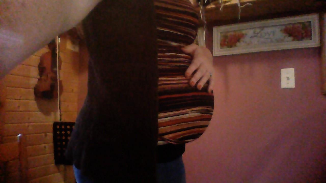 22 weeks (baby #9)