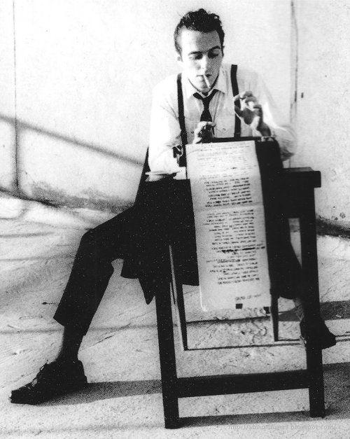 Joe Strummer of the Clash, by Pennie Smith