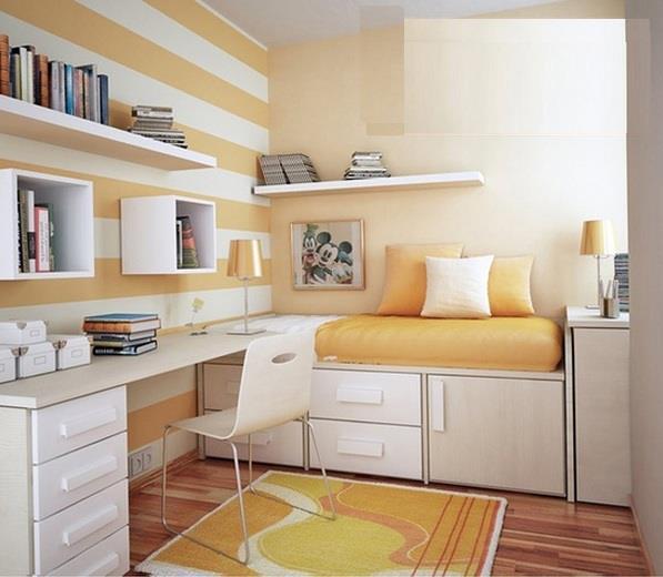 Construindo minha casa clean escrit rios lindos eu quero for Sofa cama armario