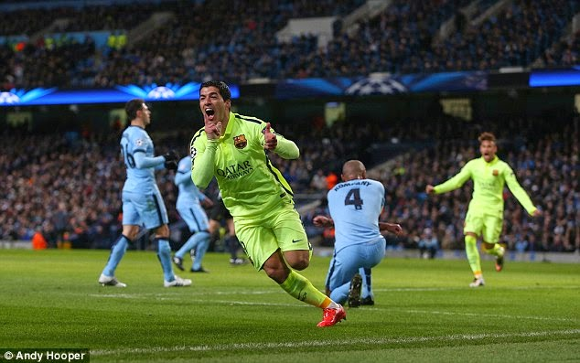 Barca Permalukan Manchester City di Etihad Stadium