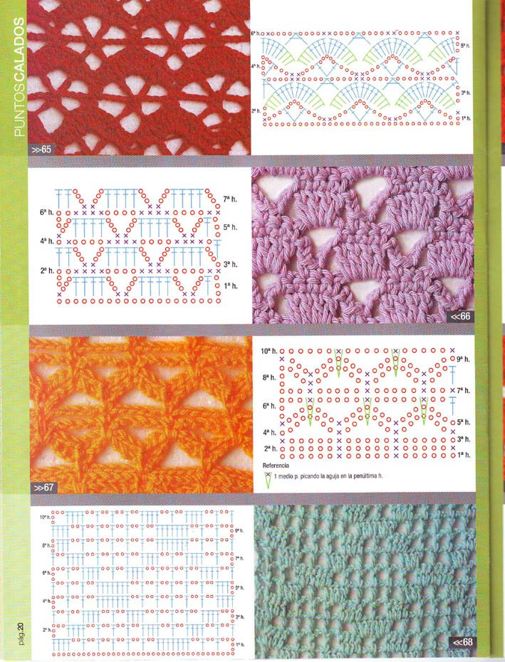 Puntadas a crochet gratis - Imagui