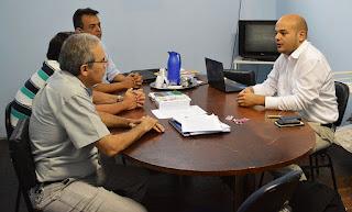 Secretário de Saúde Henrique Medina recebe os diretores do Centro de Terapia Renal de Itaboraí