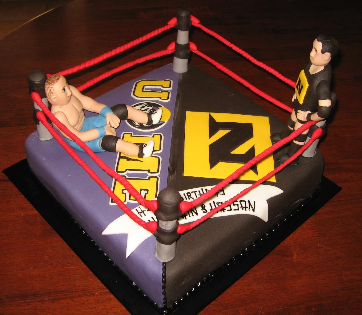 Let Them Eat Cake John Cena V Nexus Cake