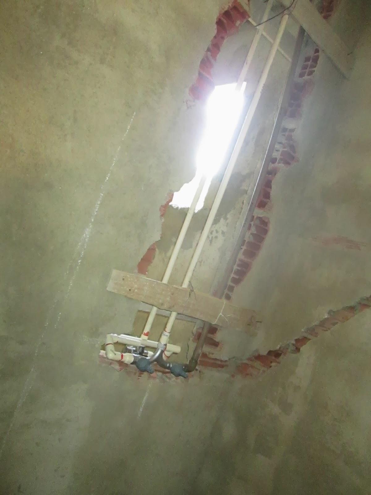 Construindo e Reformando: Balanço de seis meses de obra #5F4D3C 1200 1600