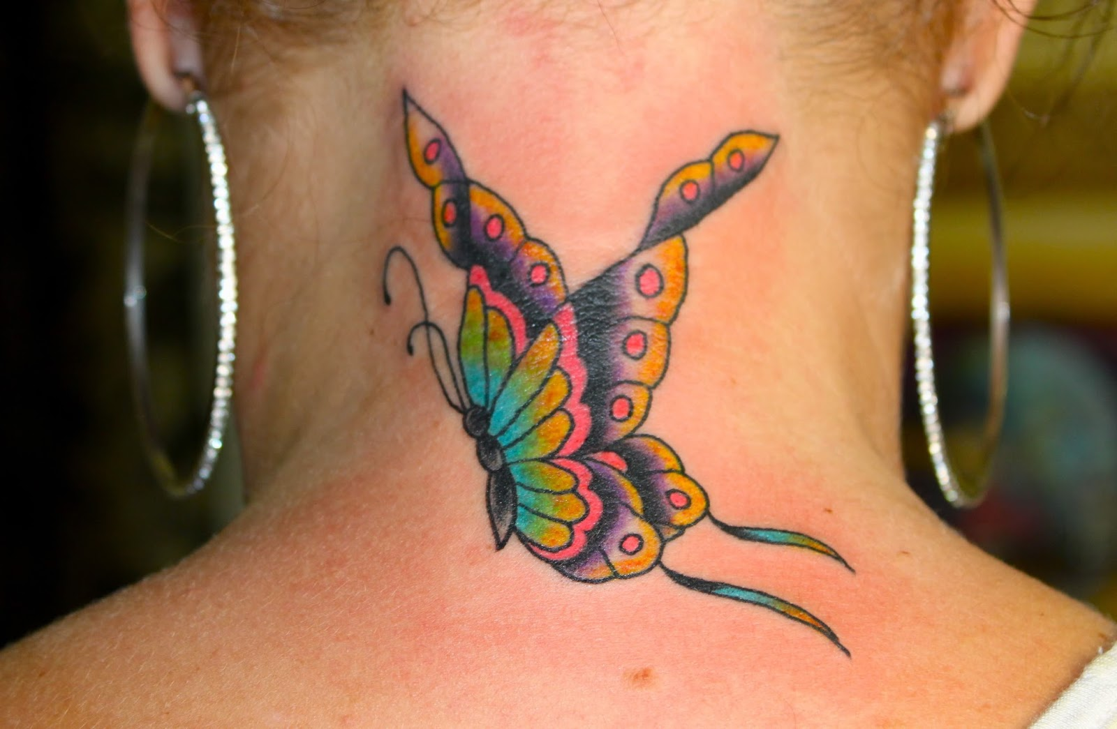 tattoos back tattoos lower back butterfly tattoo design. Black Bedroom Furniture Sets. Home Design Ideas