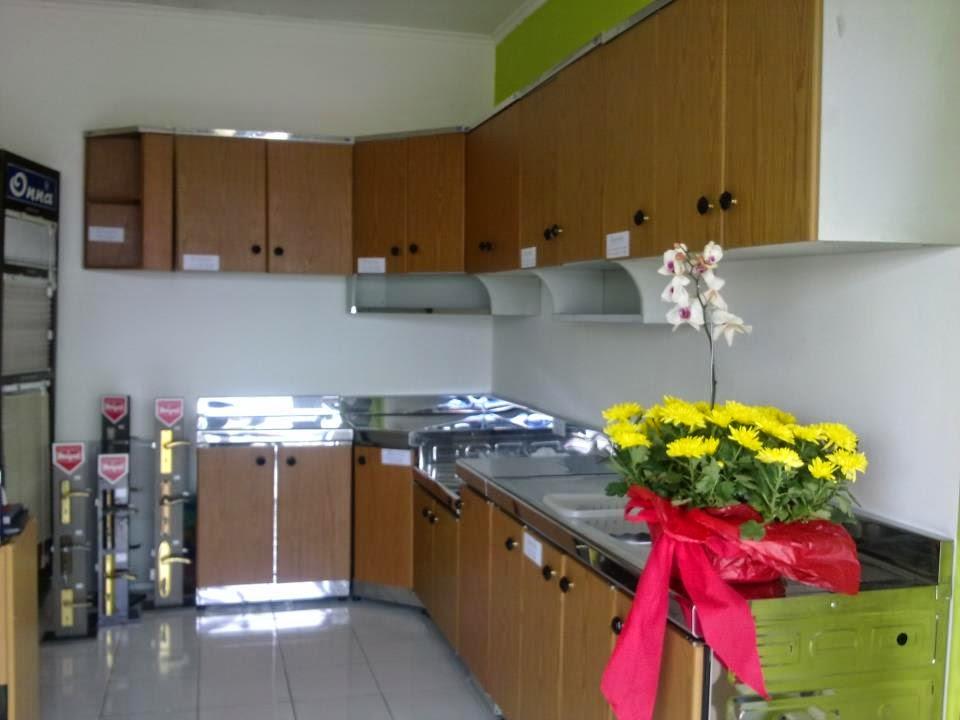 desain kitchen set minimalis modern Terbaru
