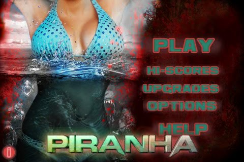 Piranha 3DD Free App Game By The Weinstein Company