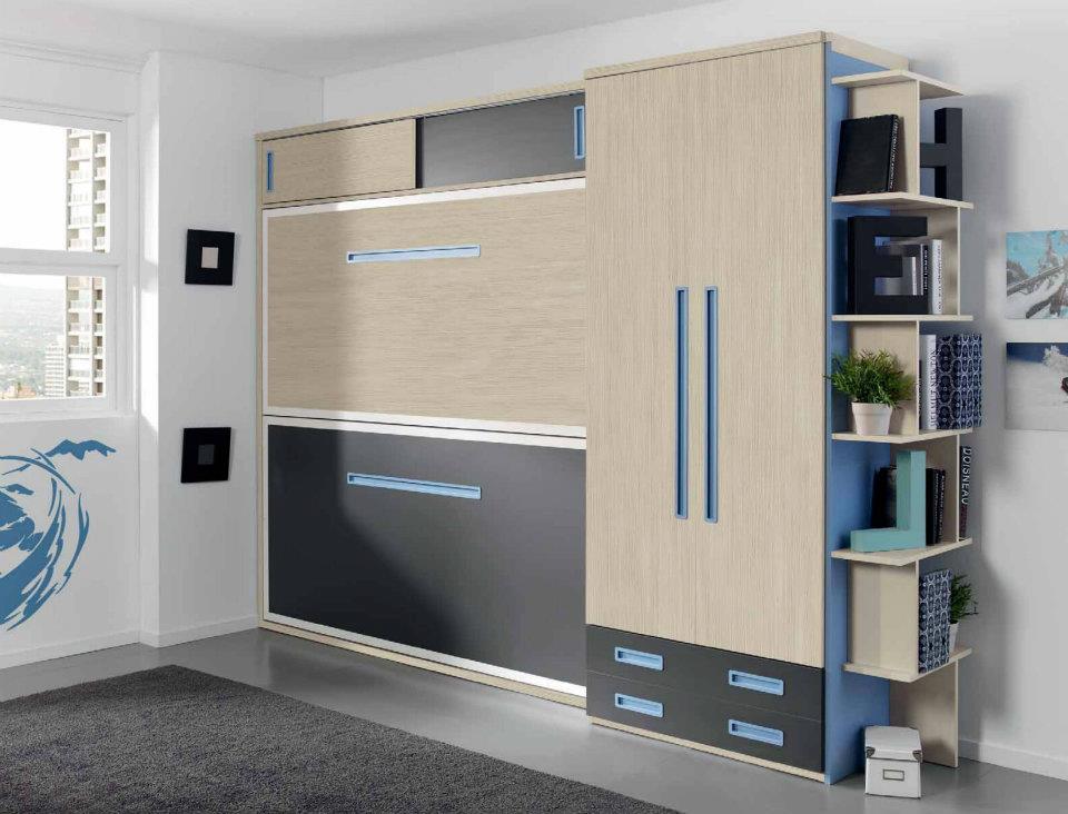 Literas abatibles precios for Dormitorios juveniles modernos precios