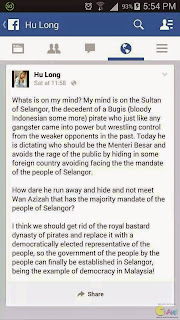 Kes Terbaru Hina Sultan Selangor