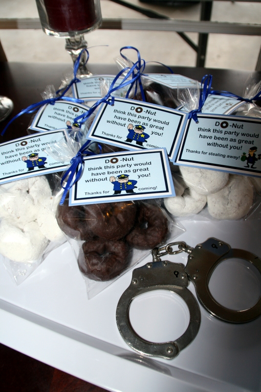 Cops And Robbers Themed Party Decorations