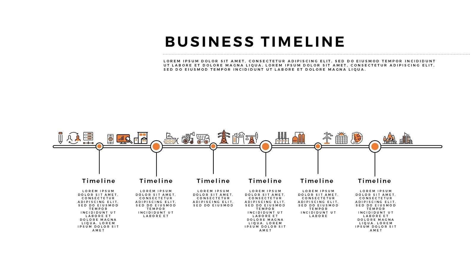 Powerpoint timeline slide template trattorialeondoro toneelgroepblik Image collections