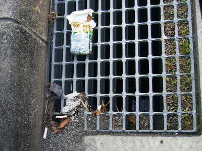 煙草のポイ捨て吸い殻(画像)・・・2