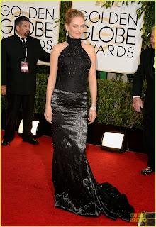 Uma Thurman Golden Globes