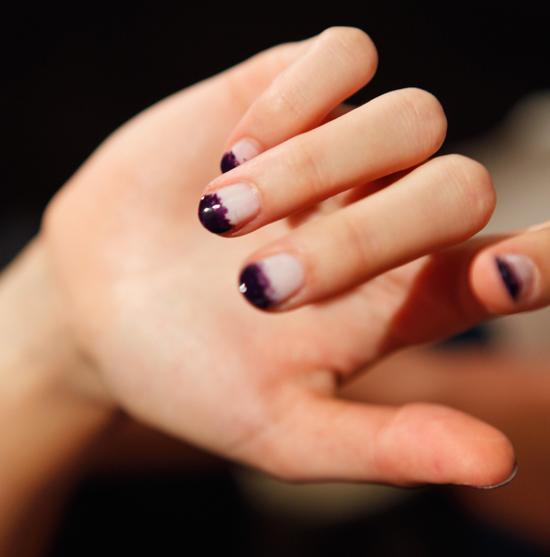 Nail Art Dip Dye Nail: Of Emma: Dip Dyed Nails