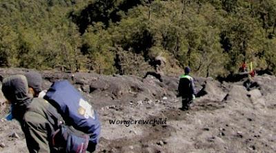 pendaki asal bogor hilang di jalur pendakian gunung semeru