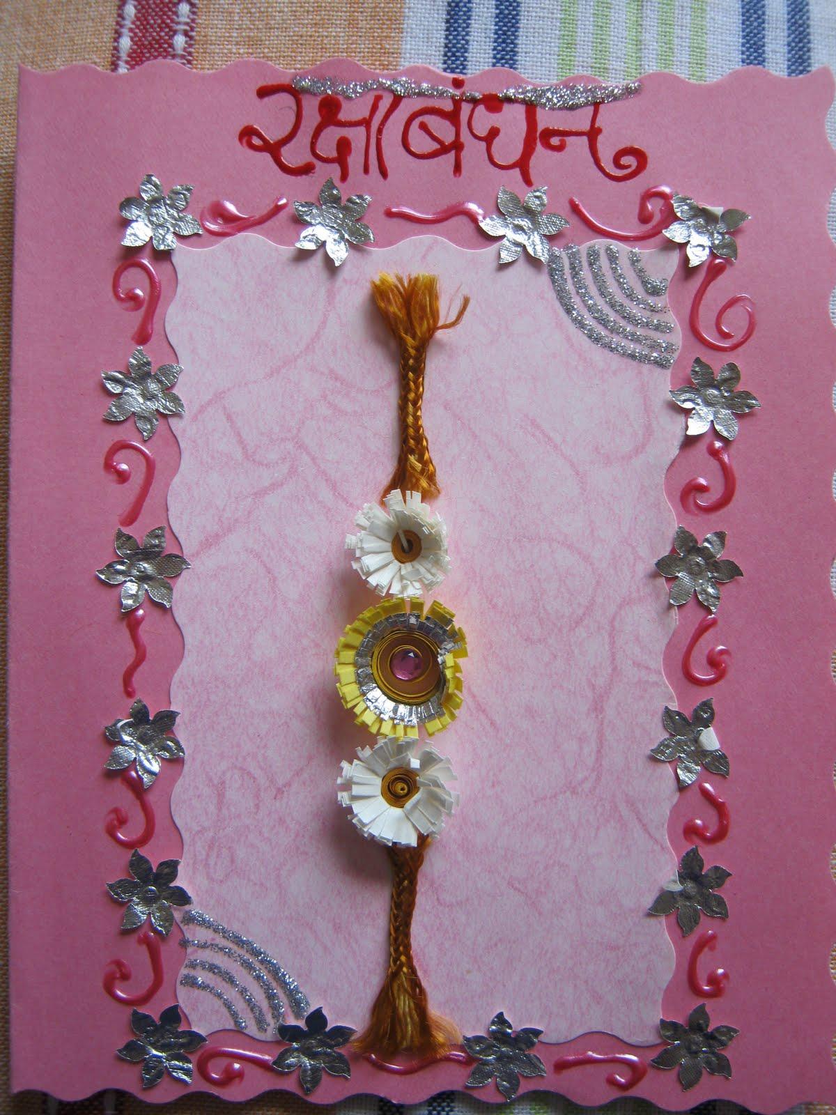 Swastik nehas art handmade greeting cards envelops rakhi greetings kristyandbryce Choice Image