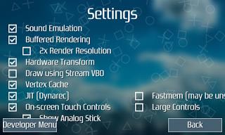 Tahap Ketiga Instal PSP Android