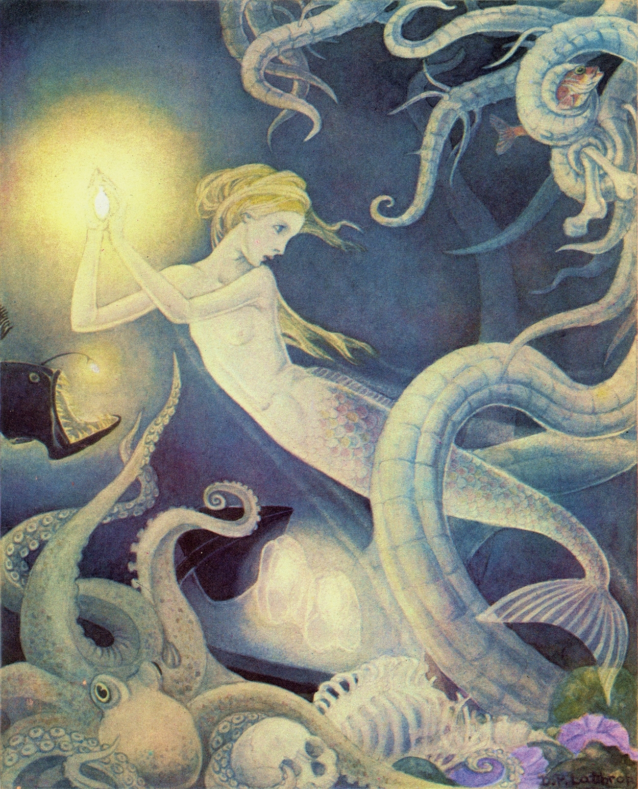 Art Of Narrative Dorothy Lathrop The Little Mermaid 1939