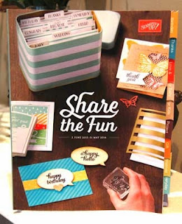 New Stampin Up Annual Catalogue