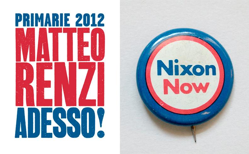 Renzi l'innovatore (2012)Nixon (1972)