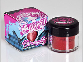 Leticia Fontaine, Cosmetics Aficionado, beauty blog, beauty blogger, interview, First Look Fridays, Leticia Fontaine's favorite beauty products, Sugarpill Cosmetics Loose Eyeshadow Asylum, eyeshadow, eye makeup