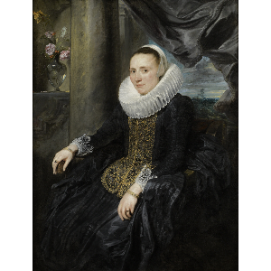 Anthony Van Dyck -Margareta Snyders, c.1620.