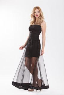 Rochie de seară din tulle1