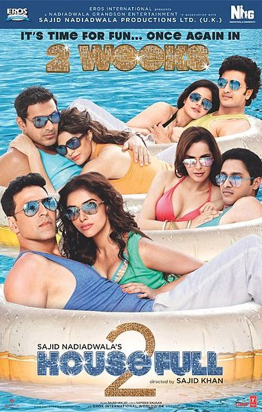 Housefull 2 (2012) Movie Poster