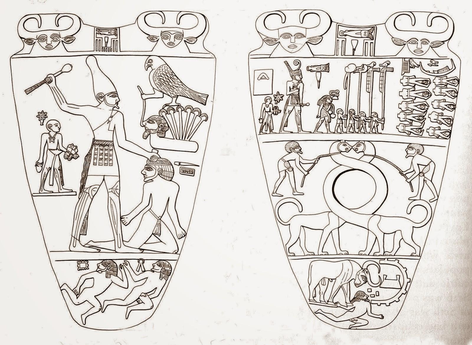 Resultado de imagen de paleta de Narmer