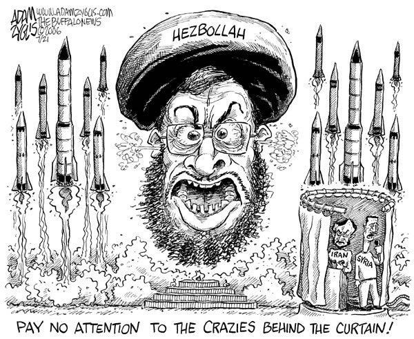 Image result for Hezbollah CARTOON