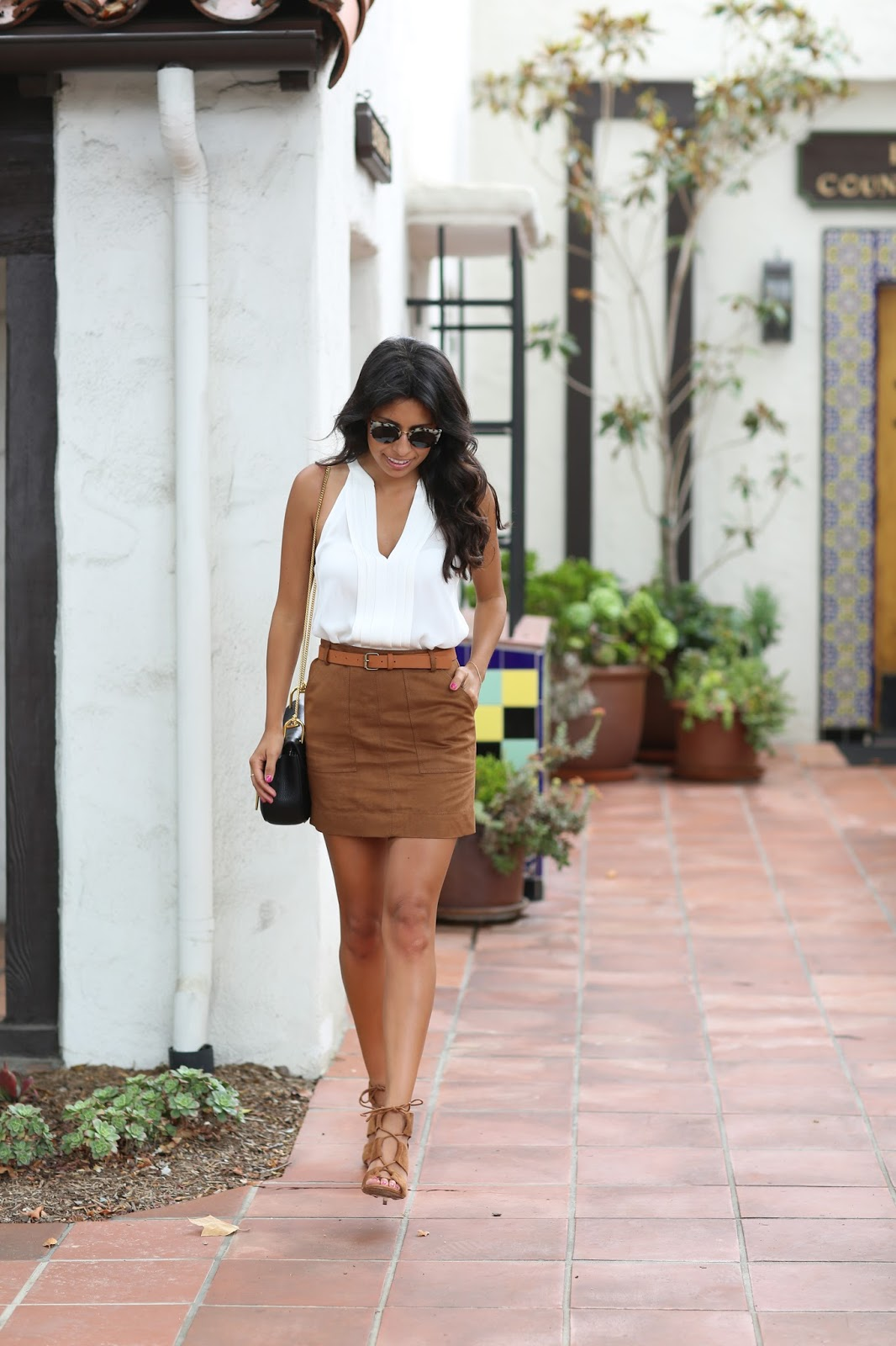 nordstrom anniversary sale finds, how to wear suede skirt, suede mini ...