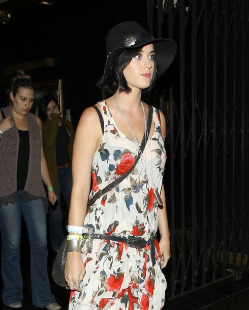Katy Perry Catches XX Concert » Gossip | Katy Perry