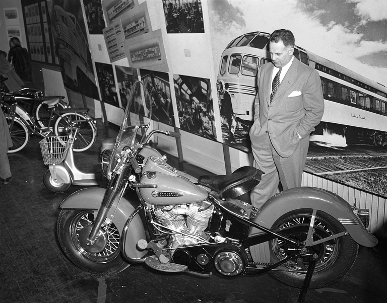 RoyalEnfields.com: The man who made motorcycles look modern
