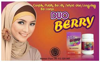 Banner Suplemen Duo Berry Pelangsing dan Pemutih Tubuh