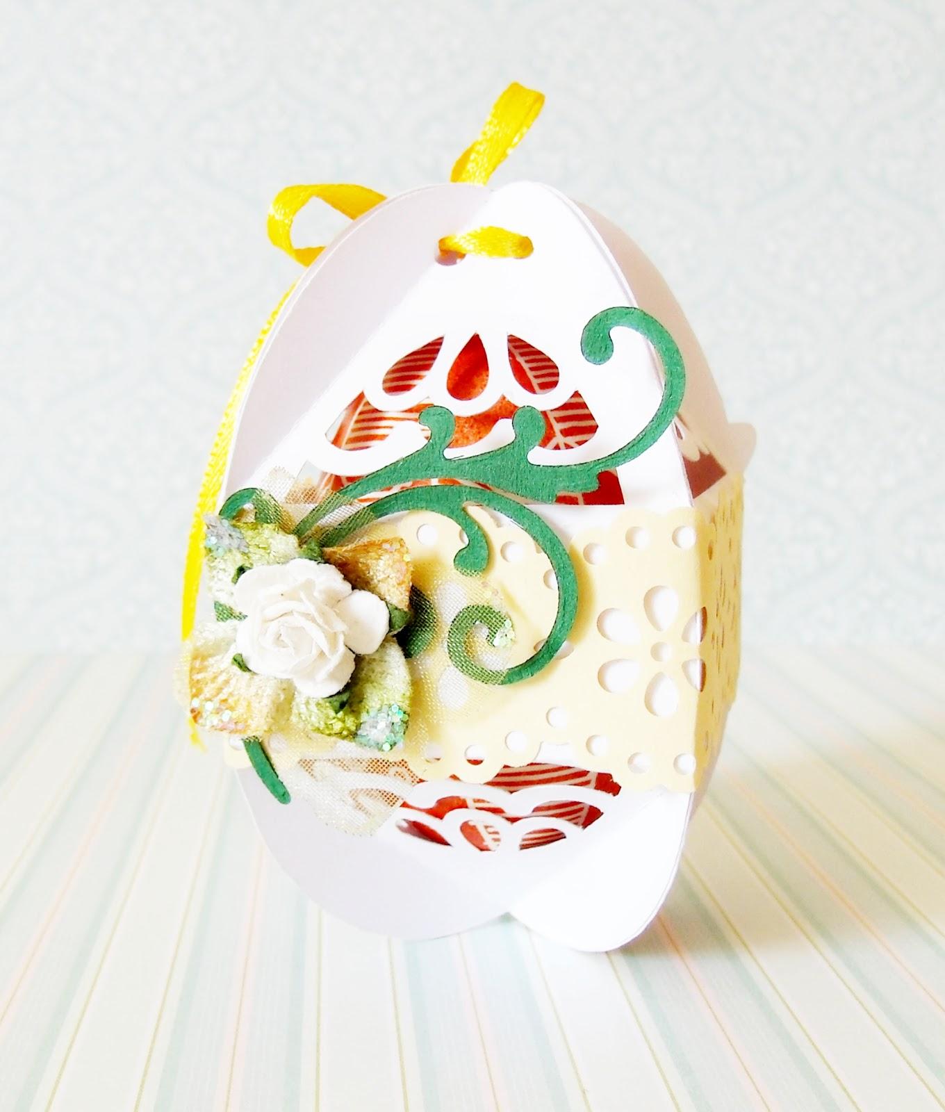 Коробочки своими руками для пасхальных яиц 4