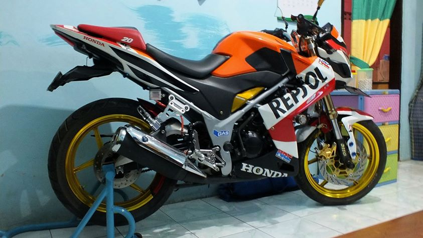 referensi modifikasi cbr 150 repsol