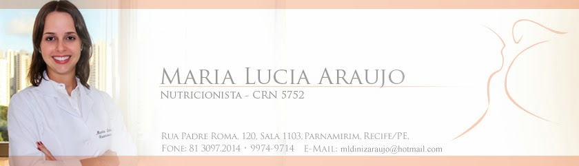 Maria Lucia Araujo - Nutricionista